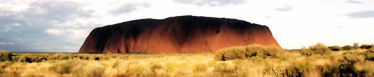 Uluru - The Sacred Rock of the Australian Aborigines - Kooris